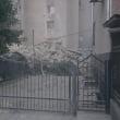 VIDEO / Un bloc cu 9 etaje s-a prăbușit, în orașul Otaci din Republica Moldova